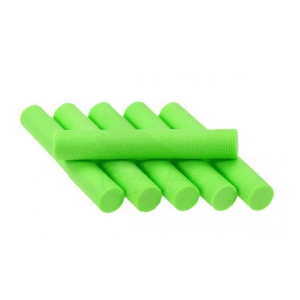 Foam Cylinders 8mm - Charteuse
