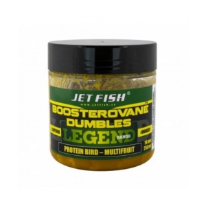 Jet Fish Boosterované dumbles Legend Range 120g - 14mm Protein Bird/Multifruit