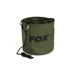 Fox International Skládací nádoba na vodu Collapsable Large water bucket inc rope/clip