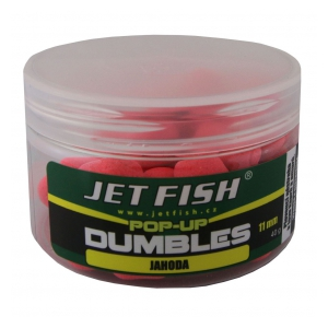 Fluoro pop-up dumbles 11mm-40g :  jahoda