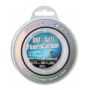 Soft Fluoro Carbon 0.49mm 35m 15.2kg 33.5lb