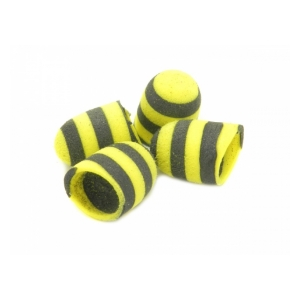 Bee popper diameter - 10mm yellow