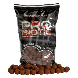 STARBAITS Red One - Boilie potápivé 1kg 20mm