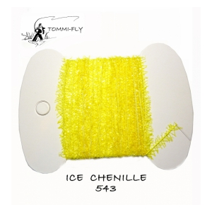 Tommi Fly ICE CHENILLE 7mm - fluo žlutá