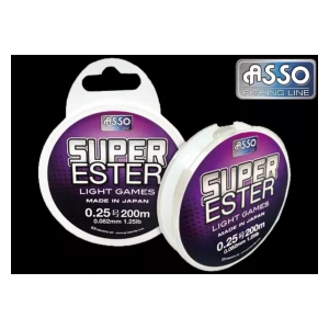 Asso Vlasec Trout Area Super Ester 0.128 mm 3 lb 200 m