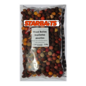 STARBAITS Boilies  Směs 2,5kg