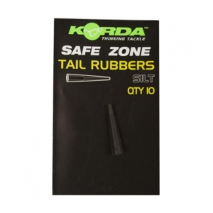 Korda Převleky Safe Zone Tail Rubbers 10ks Silt