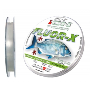 AWA-SHIMA Vlasec ION POWER FLUO-X SPEC. COMP. 250M 0,35MM 17.50KG