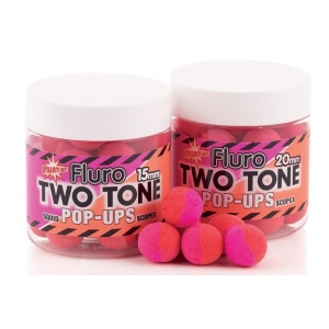 Fluoro Pop Ups Two Tone - 20mm Squid Scopex