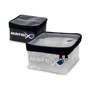 Pouzdro Matrix PVC Clear Accessory Pouch (18*18*10)