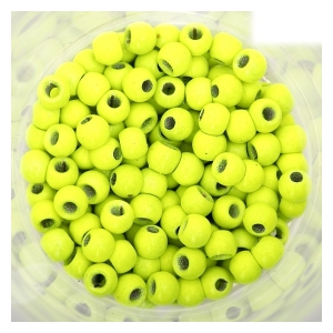 Bead head chartreuse  - 2,8mm