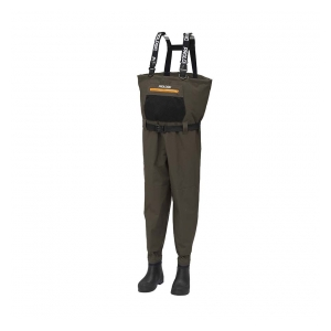 Prologic Prsačky LitePro Breathable Wader w/EVA Boot Cleated 42/43 - 7.5/8