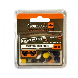 Prologic Pěnové kuličky LM Foam Twin Color Balls 10mm 16ks