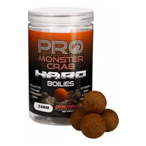 STARBAITS Tvrdé boilie Hard Boilies Pro Monster Crab 24mm 200g