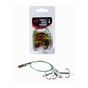 Fil Fishing Lanko s Trojhákem Treble Hook Leader 4
