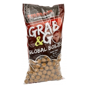 STARBAITS Global boilies SWEET CORN 20mm 2,5kg