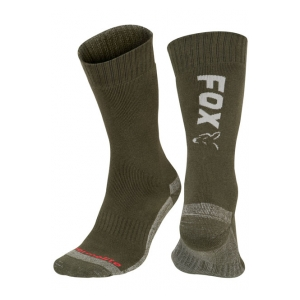 Fox International Ponožky Green/Silver Thermolite Long Sock vel. 40-43