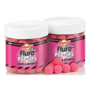 Fluoro Pop Ups - 20mm Squid Octopus