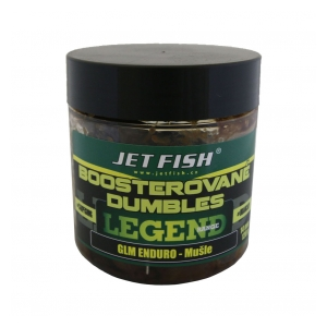 Jet Fish Boosterované dumbles Legend Range 120g 14mm GLM Enduro + Mušle
