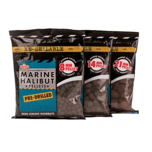 DB Pellet Pre Drilled Marine Halibut 350g 21mm