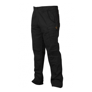 Kalhoty Collection Black & Orange Combat Trousers vel. L