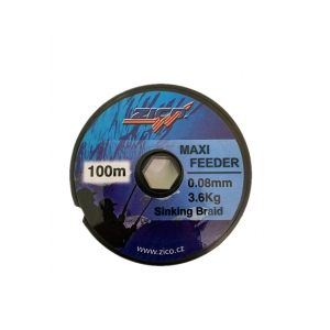 Šňůra Maxi Feeder 0.08 mm 3,6 kg 100 m