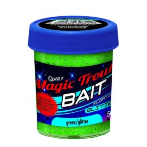 Magic trouth bait floating - Green gliter/fish