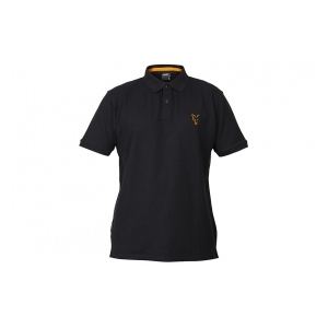 Tričko Collection Orange & Black Polo Shirt vel. L