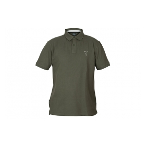 Tričko Collection Green & Silver Polo Shirt vel. M