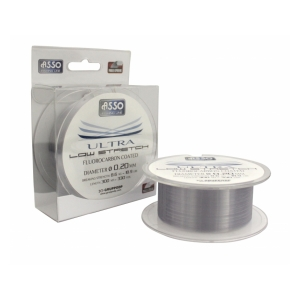 Asso Vlasec Ultra Low Stretch 300m 0,18mm