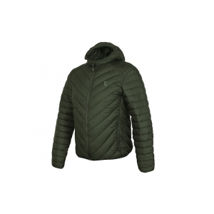 Fox International Bunda Collection Green & Silver Quilted Jacket vel. M