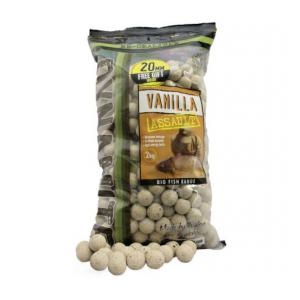 DB Boilies Vanilla Assault Shelf Life 20mm 2kg