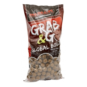 STARBAITS Global boilies MEGA FISH 20mm 2,5kg