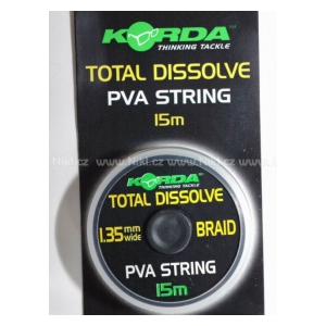 PVA šňůrka - String  - Total dissolve 1,35 mm / 15 m