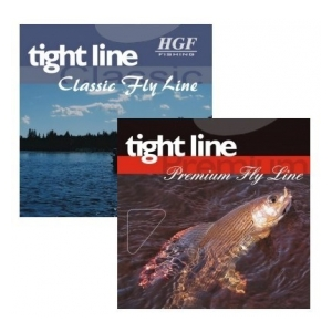 HGF Muškařská šňůra tight line - WF 4 F Pale Cream