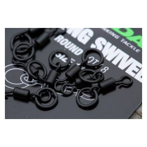 Korda quick change swivel Loop Fitting-obratlík s kroužkem vel.11