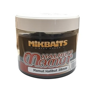 Mikbaits Mamut&Halibut pelety v dipu 300ml - Mamut Halibut 28mm