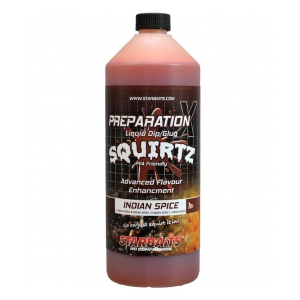 STARBAITS Booster PREP X SQUIRTZ INDIAN SPICE 1 L