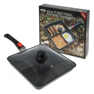 NGT Pánvička s víkem Multi Section Frying Pan with Lid