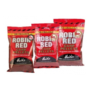 Pelety Robin Red NOT DRILLED 4mm 900g