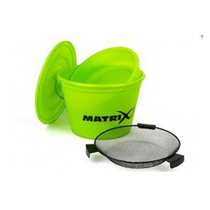 Kbelík Matrix Bait Bucket Set /limet/