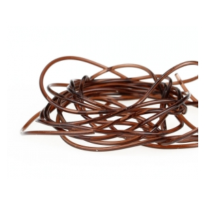 Glass rib 1mm - Brown-140cm