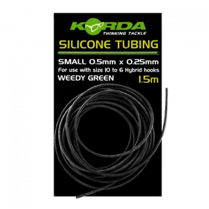 Korda Hadička Silicone Tube Green 0,5mm 1,5m