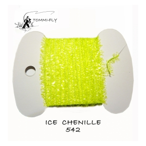 Tommi Fly ICE CHENILLE 7mm - fluo zelená