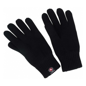 Rukavice KNITTED GLOVES WITH FLEECE - L