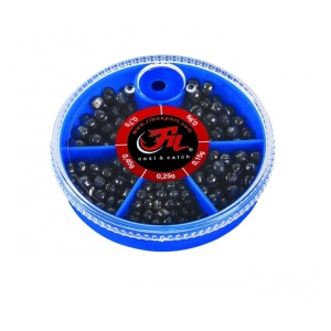 Filfishing Broky Split Shots Small Box
