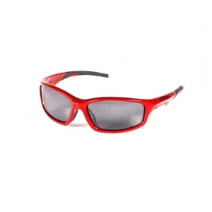 POLARIZED GLASSES BLACK AND RED