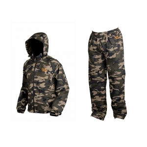 Prologic Nepromokavý komplet Bank Bound 3-Season Camo Set - vel. XXL