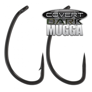Gardner Háčky Covert Dark Mugga Hook Barbed, vel. 6
