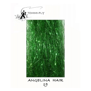Angelina hair - zelená